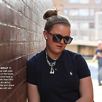 London, United Kingdom -  Tuesday 22 May 2012 - Wager Street, Abbie Solly.