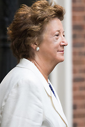 Downing Street, London, September 15th 2015.  Minister of State at the Foreign & Commonwealth Office Baroness Anelay arrives at 10 Downing Street to attend the weekly cabinet meeting