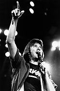 Journey 1983 Steve Perry.© Chris Walter.