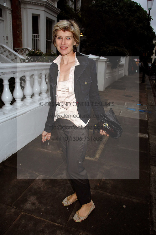 SELINA SCOTT at the annual Sir David &amp; Lady Carina Frost Summer Party in Carlyle Square, London SW3 on 5th July 2007.<br />