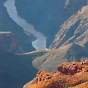 View of the Colorado River from Hopi Point, Grand Canyon National Park Arizona