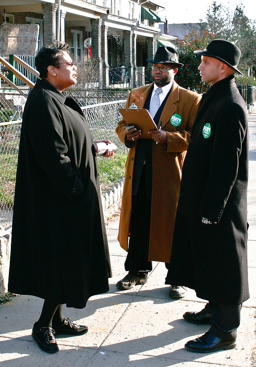 Fenty campaigning with Sinclair Skinner in the 2006 D.C. mayoral race.