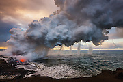 Volcanic Vortices