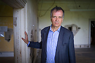 Mark Baring, son of Lord Ashburton pictured at his ancestral home, Grange Park in Hampshire. The Grange Festival will have its inaugural season in June, 2017 after parting with its previous tenants, Grange Park Opera, who enjoyed 16 years at the award winning theatre. <br /> Picture date: Thursday October 20, 2016.<br /> Photograph by Christopher Ison &copy;<br /> 07544044177<br /> chris@christopherison.com<br /> www.christopherison.com