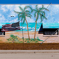 SARASOTA, FL -- An American flag flaps in the wind on decision day for the Florida Primary on Tuesday, January 28, 2012. (Chip Litherland for The New York Times)