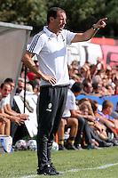 17.08.2016 - Villar Perosa - Vernissage -  Juventus A - Juventus B  nella  foto: Massimiliano Allegri allenatore della Juventus