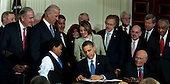 2010 Health Care Bill Signing