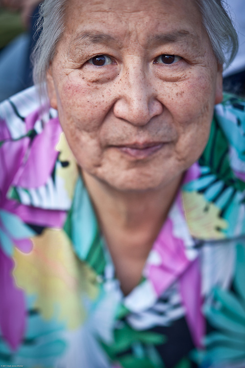 Inupiaq, Fred Wemark, Town Square, downtown, Anchorage
