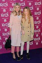 Donna Air and  Freya Air Aspinall attend  Cirque Du Soleil Kooza Press Night  at The Royal Albert Hall, Kensington Gore, London on Tuesday 6 January 2015