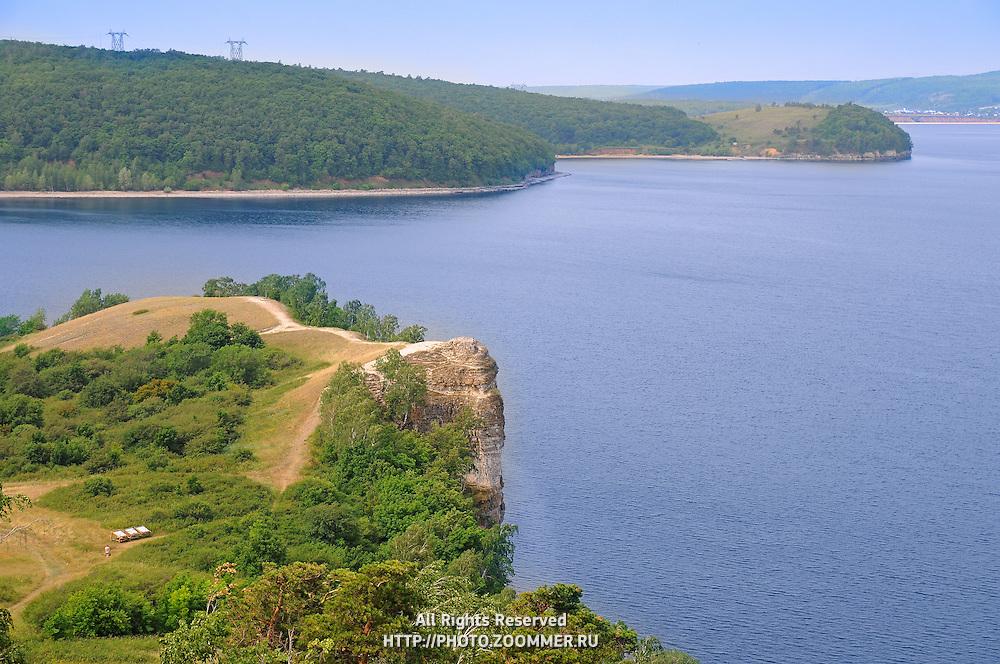 russian volga river
