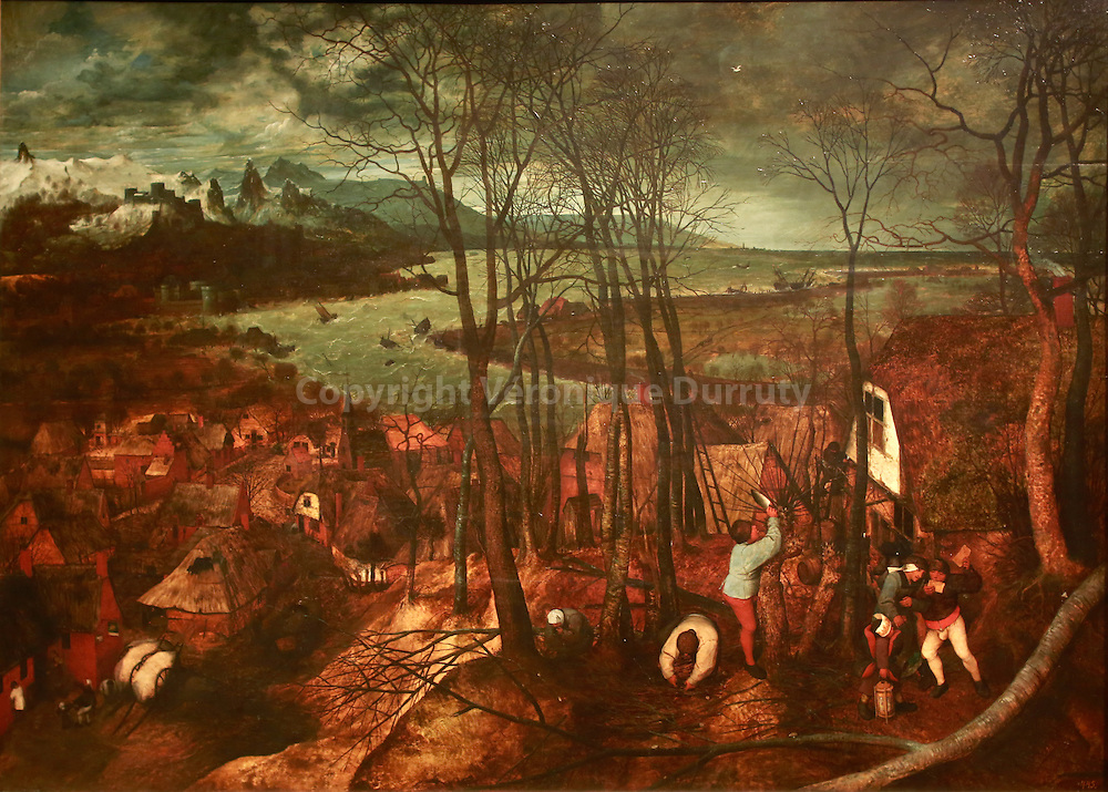 Paintings gallerie, Kunsthistorisches Museum, Vienna, Austria : Pieter Bruegel // Galerie de peinture du Kunsthistorisches Museum, Vienne, Autriche : Pieter Bruegel