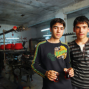 Mehmet and Mehmet are not Beritan. They work the twelve-hour day shift at a textile factory owned by Mehmet Yazici, a member of the tribe, in the city of Gaziantep.