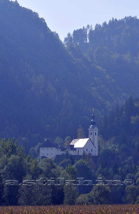 Church on mountain