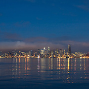 View from Salty's On Alki restaurant.