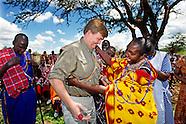 KING WILLEM ALXANDER IN KENIA