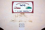 Coche de caballos terminal in Holguin, Cuba.