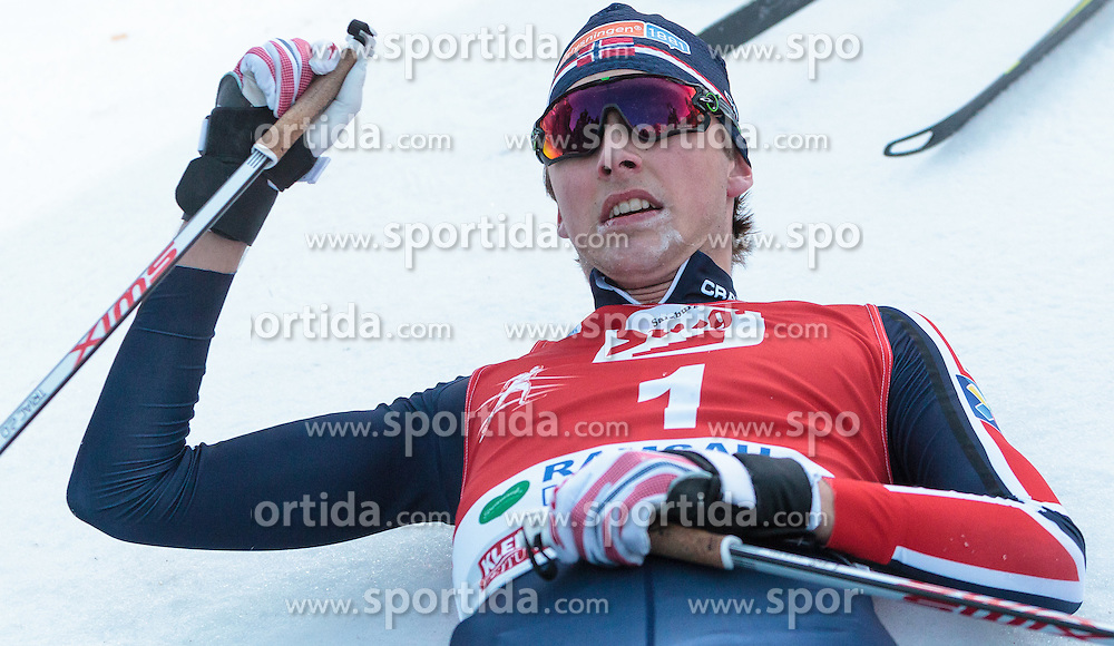 20.12.2015, Nordische Arena, Ramsau, AUT, FIS Weltcup Nordische Kombination, Langlauf, im Bild Jarl Magnus Riiber (NOR) // Jarl Magnus Riiber of Norway during Cross Country Competition of FIS Nordic Combined World Cup, at the Nordic Arena in Ramsau, Austria on 2015/12/20. EXPA Pictures © 2015, PhotoCredit: EXPA/ JFK