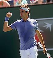 Tennis: BNP Paribas Open 2014 Alexandr Dolgopolov vs Roger Federer
