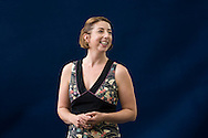 Jenny Colgan, British chick-lit author and journalist. Edinburgh International Book Festival, Edinburgh, Scotland. Edinburgh is the inaugural UNESCO City of Literature.