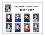 Mrs. Warner's Pre-School 2016