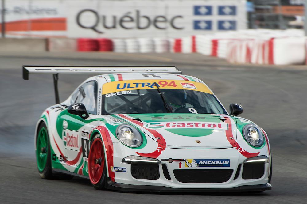 7-10 August, 2014, Trois-Rivieres, Quebec Canada<br /> 9, Christopher Green, Platinum, 2014 Porsche<br /> &copy;2014, Scott R LePage <br /> LAT Photo USA