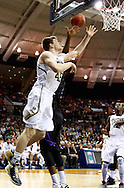 SOUTH BEND, IN - DECEMBER 21: Jack Cooley #45 of the Notre Dame Fighting Irish shoots the ball against the Niagara Purple Eagles at Purcel Pavilion on December 21, 2012 in South Bend, Indiana. (Photo by Michael Hickey/Getty Images) *** Local Caption *** Jack Cooley