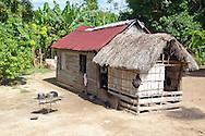 House in Vista Alegre near Unas, Holguin, Cuba.