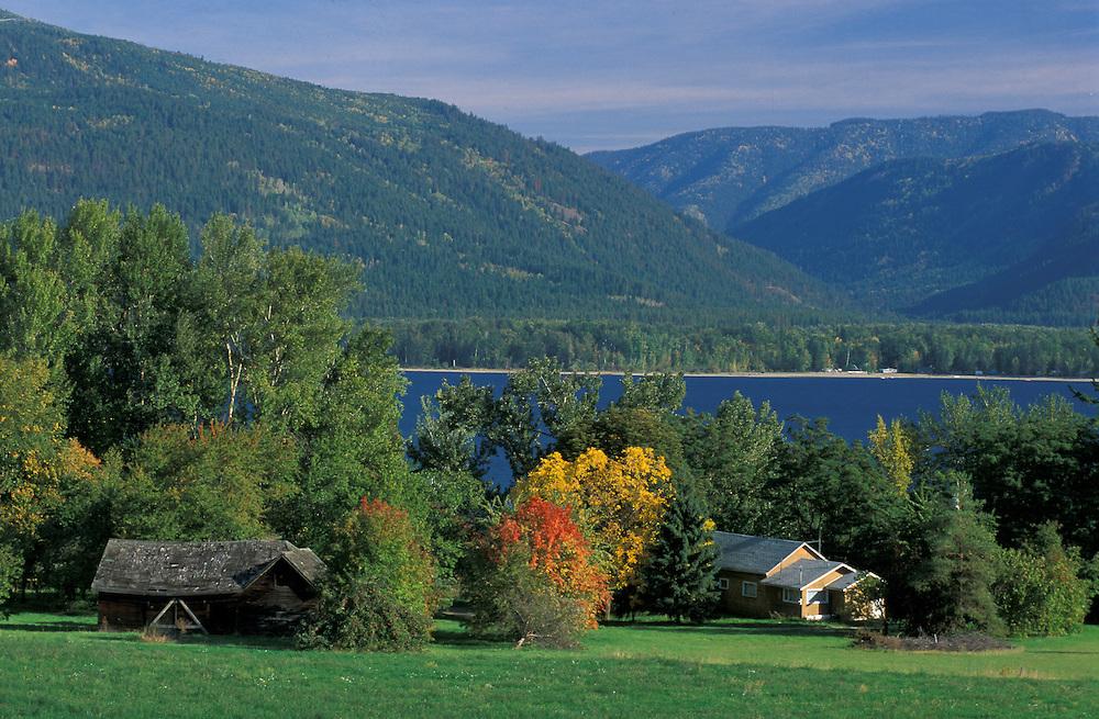 Sushwap Lake, near Sorrento, British Columbia, Canada