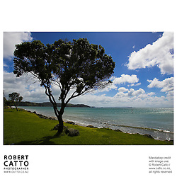 Orewa, Auckland, New Zealand.<br />