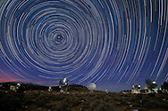Star tails above the eastern California CARMA array