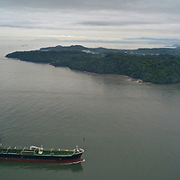 Panama Canal from the air