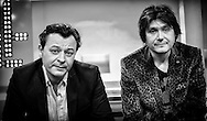 Manic Street Preachers, James Dean Bradfield and Nicky Wire on Sunday Brunch / 24-11-2013.<br /> <br /> Can be licensed for use at www.rexfeatures.com