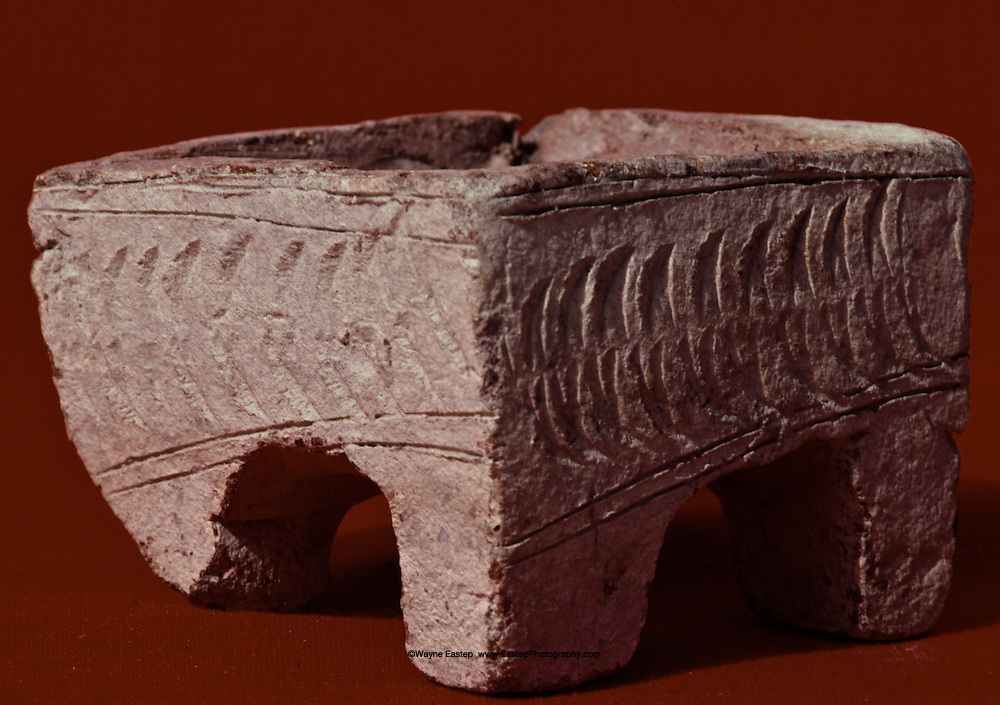Incense burner, solid pottery,Thaj, Saudi Arabia