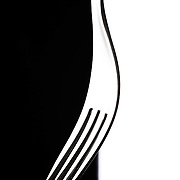 Abstract cutlery fork