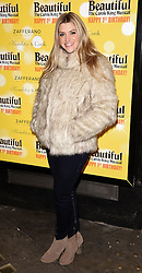 Beautiful - The Carole King Musical first birthday celebration at The Aldwych Theatre, The Aldwych, London on Tuesday 23 February 2016