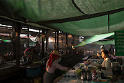 Market Day at Aungban. Aungban is a town in the Shan State of eastern Burma. It is located in Kalaw Township in Taunggyi District.