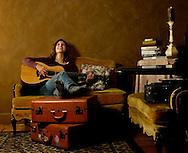 Folk music artist Bonnie Lee Panda.  (Photo by Robert Falcetti)
