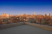 The Manhattan penthouse of Leslie Alexander, owner of the Houston Rockets basketball team.