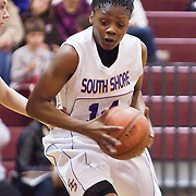 12/27/11 Wilmington DE:  Brooklyn South Shore Senior Guard Jenice Winter #14 drives the lane during a Diamond State Classic game Tuesday Dec. 27, 2011 at St. Elizabeth High School High School in Wilmington Delaware...Special to The News Journal/SAQUAN STIMPSON