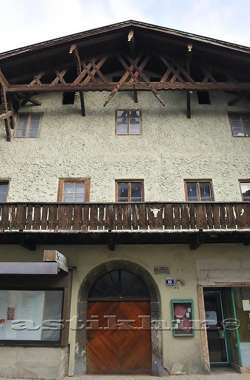Old house on Untermarktstraße Telfs, Austria