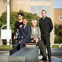 Routes To Work, staff members Rubina Mohammed, Stephen Welsh,Marion Paterson, and David Mathew