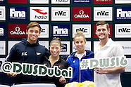Press Conference 2016 Dubai FINA/NVC World Series