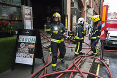 2015-05-08 Firefighters attend Wardour Street restaurant kitchen fire