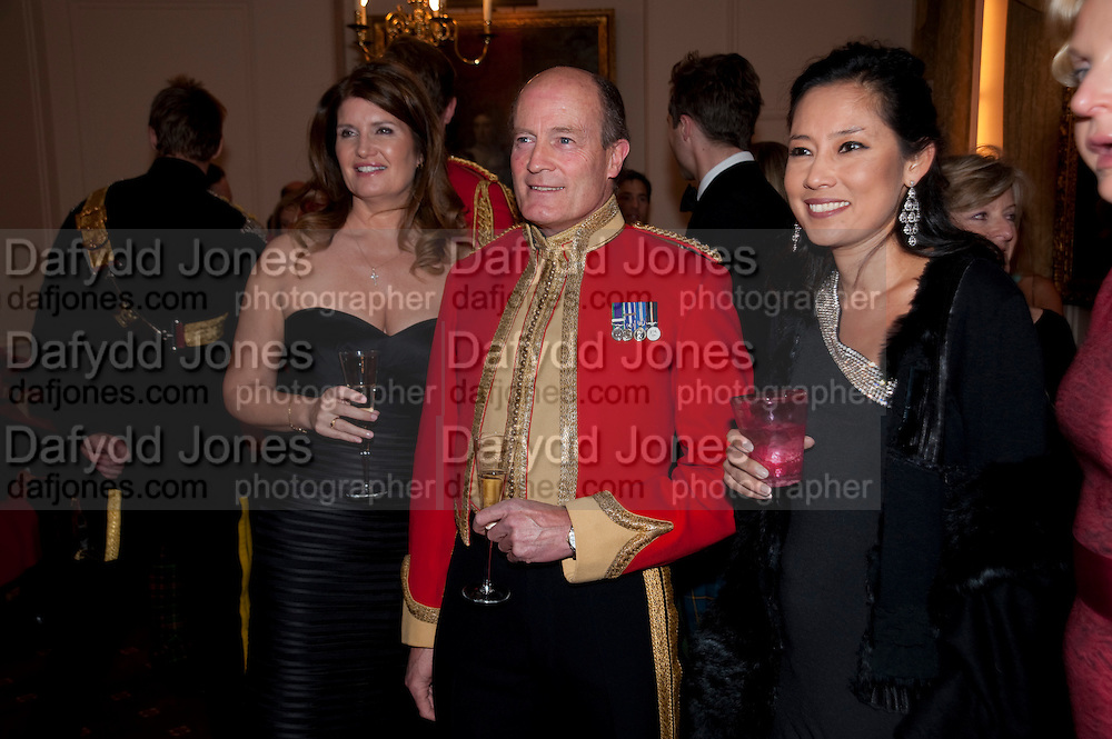 ALEXA JAGO; BRIGADIER SIMON ALLEN; SHEILA MACKINTOSH Charity Dinner in aid of Caring for.