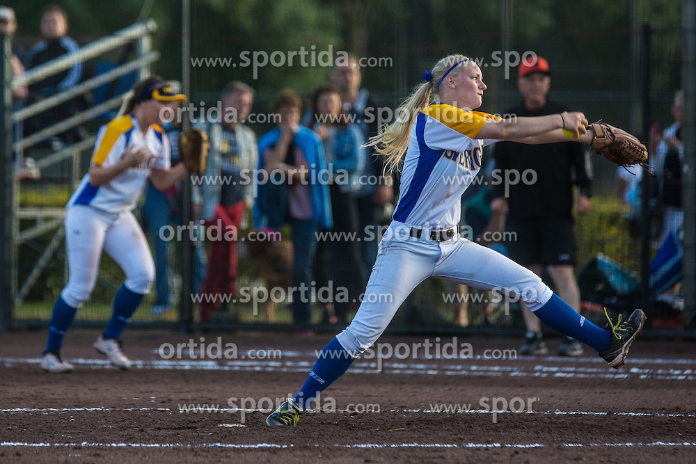 Netherland vs Sweden during XIX European Softball Fastpitch  Championship Women, on July 20, 2015 in Rosmalen,  Netherlands. Photo by Grega Valancic / Sportida