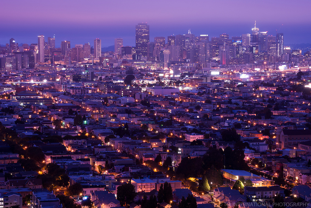 San Francisco Skyline, Early Morning