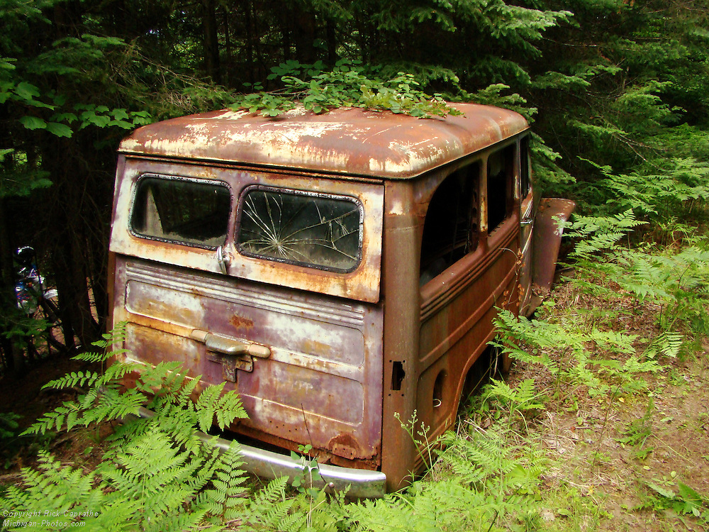 Willy's Wagon in the Woods, Michigan's Upper Peninsula