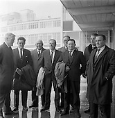 1967 - Fishermen leave Dublin Airport for Norway