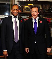 David Cameron & Adam Afriyie Visit