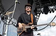 July 13, 2003; Lewisburg, WV, USA;  LES CLAYPOOL'S FROG BRIGADE performing at The 2003 Mid-Atlantic Music Experience..Photo by Bryan Rinnert/3Sight Photography